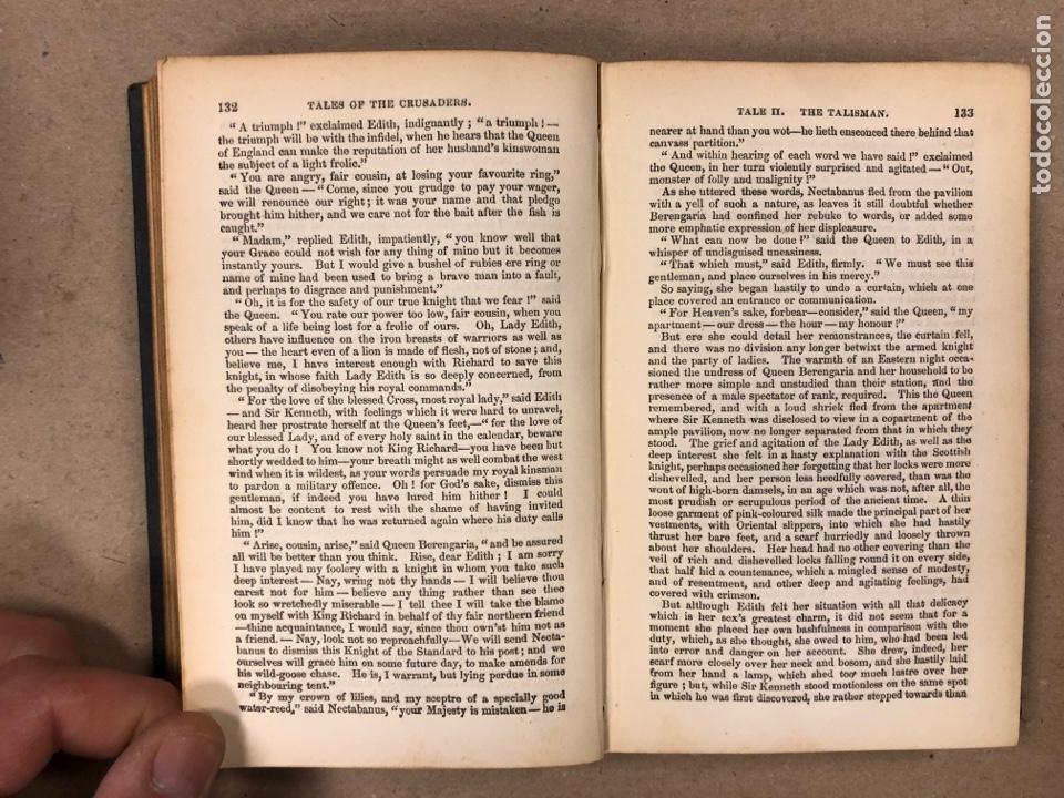 Libros antiguos: BAVERLEY NOVELS. LOTE DE 6 LIBROS DE 1873: GUY MANNEIRO, THE ANTIQUARY, IVANHOE, KENILWORTH,... - Foto 20 - 196067176