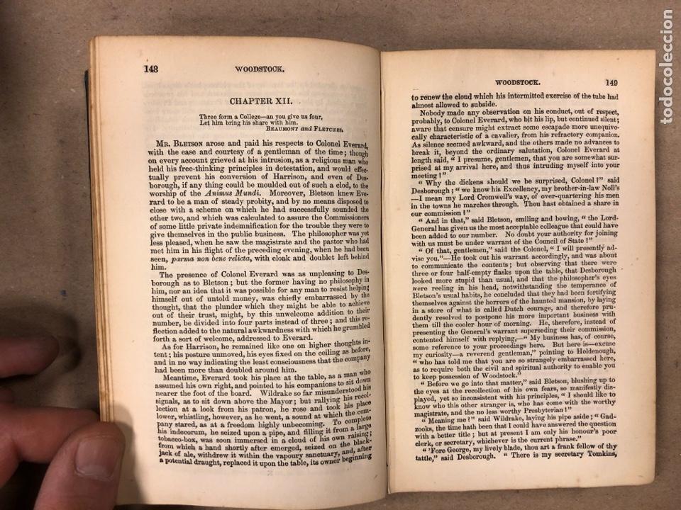 Libros antiguos: BAVERLEY NOVELS. LOTE DE 6 LIBROS DE 1873: GUY MANNEIRO, THE ANTIQUARY, IVANHOE, KENILWORTH,... - Foto 24 - 196067176