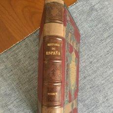 Libri antichi: HISTORIA GENERAL DE ESPAÑA. TOMO 7º. MODESTO LAFUENTE.. Lote 196076451