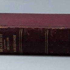 Libros antiguos: ABÉCÉDAIRE OU RUDIMENT D'ARCHÉOLOGIE. M. A. DE CAUMONT. 1869.. Lote 196091980