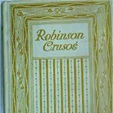 Libros antiguos: ROBINSON CRUSOE. DANIEL DEFOE. EN FRANCES. 1910. Lote 196196086