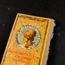 Livres anciens: PÁGINAS SELECTAS COLECCIÓN DE TRABAJOS LITERARIOS. Lote 196308775
