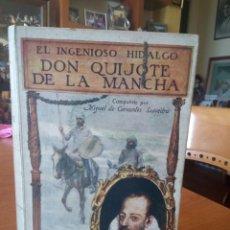 Livros antigos: INGENIOSO HIDALGO DON QUIJOTE DE LA MANCHA. Lote 196325888