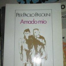 Livros antigos: AMADO MIO- ACTOS IMPUROS - PIER PAOLO PASOLINI, 1ª EDIC. BIBLIOTECA DE BOLSILLO 1.990 SEIX BARRAL. Lote 196328345