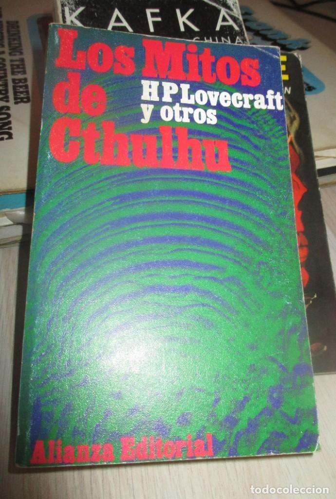 H.P. LOVECRAFT Y OTROS. LOS MITOS DE CTHULHU. ALIANZA EDITORIAL - 5º EDICION 1978 (Libros antiguos (hasta 1936), raros y curiosos - Literatura - Narrativa - Otros)