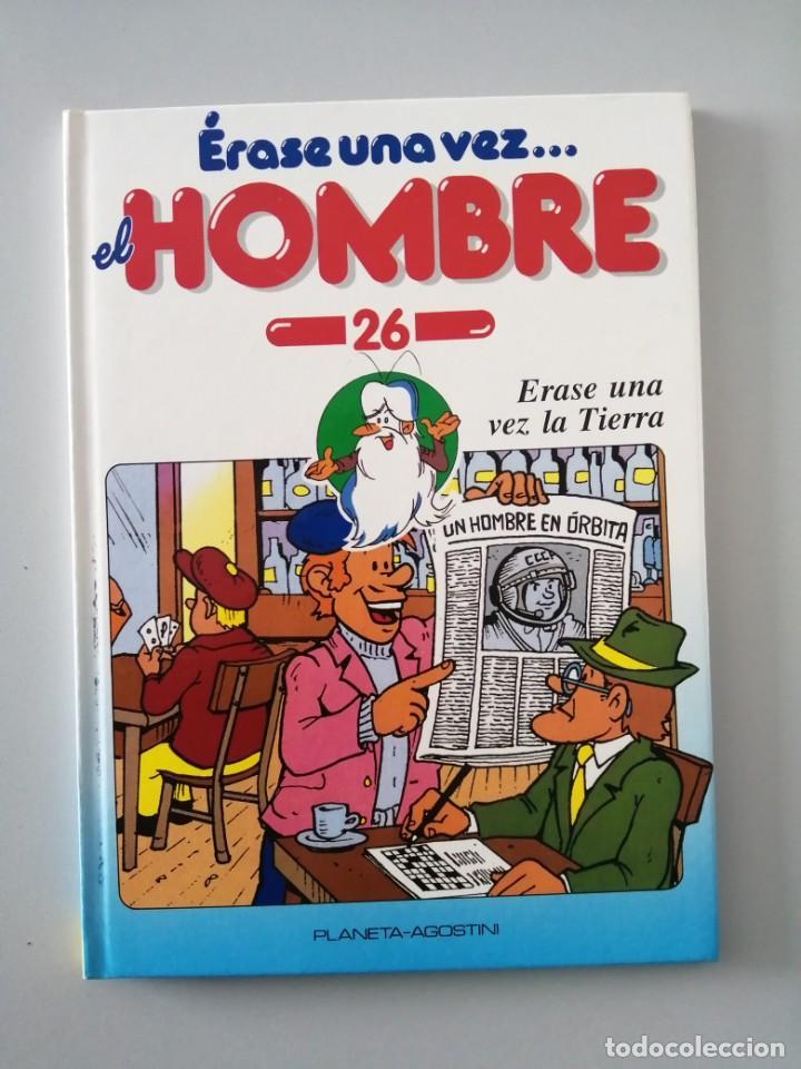 Libros antiguos: ERASE UNA VEZ EL HOMBRE - Foto 2 - 196446042