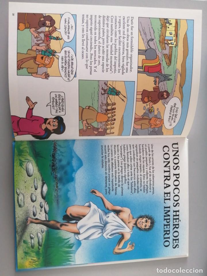 Libros antiguos: ERASE UNA VEZ EL HOMBRE - Foto 5 - 196446042