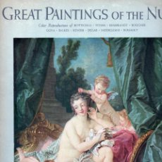Libros antiguos: GREAT PAINTINGS OF THE NUDE. Lote 196483191