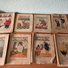 Libros antiguos: LOTE 50 REVISTAS 'EN PATUFET' AÑOS 1918-1938. Lote 196509752