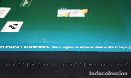 Libros antiguos: LIBRO ALIMENTACION Y GASTRONOMIA : CINCO SIGLOS DE INTERCAMBIOS ENTRE EUROPA Y AMERICA . 1998 - Foto 3 - 196510015