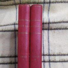 Libros antiguos: 1933. MENAGE. FAMOSA COLECCIÓN DE COCINA.. Lote 196532020