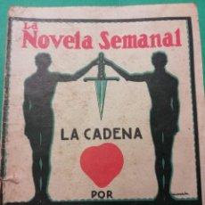 Libros antiguos: LA NOVELA SEMANAL JOSE FRANCES IMPRESO AÑO 1923. Lote 196548711