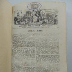 Libri antichi: INSTRUCCION PARA EL PUEBLO-CIEN TRATADOS EDITOR MELLADO MADRID. Lote 196575481