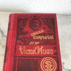 Libri antichi: LAS ORIENTALES, Y LAS HOJAS DE OTOÑO- DE VÍCTOR HUGO-TRA: D.F. GIRBAL JAUME.F. SEIX-EDITOR-BAR.. Lote 196590226