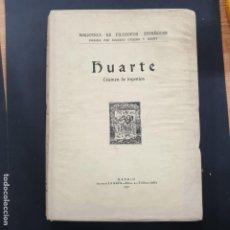 Libros antiguos: HUARTE EXAMEN DE INGENIOS MADRID 1930 TOMO II. Lote 196595353