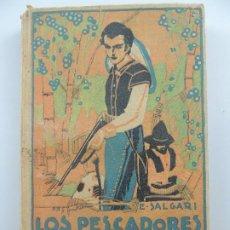 Livres anciens: LOS PESCADORES DE TREPANG TOMO II POR EMILIO SALGARI EDITORIAL SATURNINO CALLEJA AÑO 1876. Lote 196600245