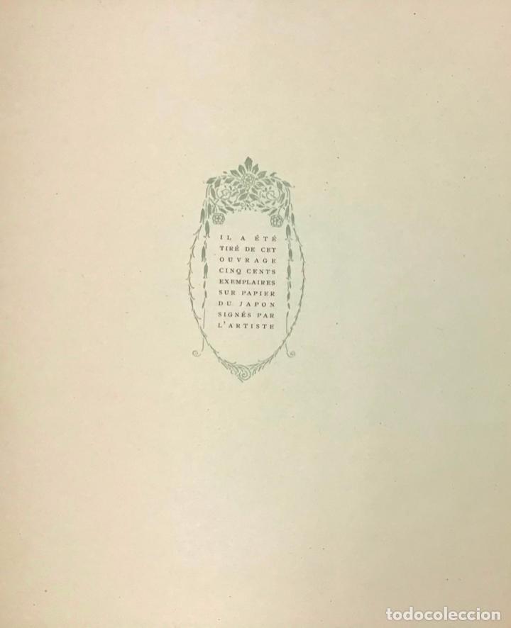 Libros antiguos: LA NUIT VENITIENNE. FANTASIO. LES CAPRICES DE MARIANNE. - MUSSET, Alfred de. - Foto 6 - 196642612