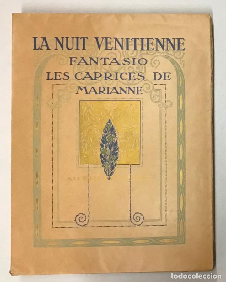 LA NUIT VENITIENNE. FANTASIO. LES CAPRICES DE MARIANNE. - MUSSET, ALFRED DE. (Libros Antiguos, Raros y Curiosos - Literatura - Otros)