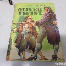 Libros antiguos: OLIVER TWIST CARLOS DICKENS COLECCION JUVENIL CADETE EDITOR MATEU. Lote 196646691
