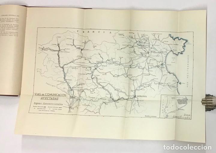 Libros antiguos: COMISARIA GENERAL DE REGIONES INUNDADAS. GERONA 1940. GIRONA - INUNDACIONES - Foto 5 - 196648457