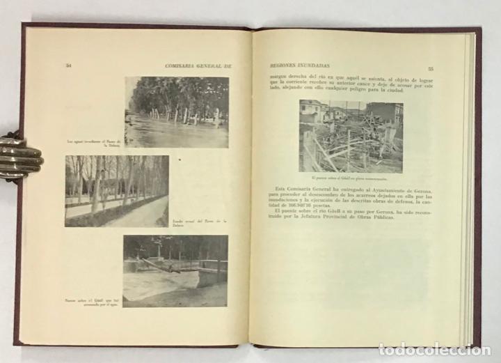 Libros antiguos: COMISARIA GENERAL DE REGIONES INUNDADAS. GERONA 1940. GIRONA - INUNDACIONES - Foto 6 - 196648457
