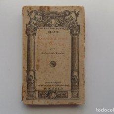 Libros antiguos: LIBRERIA GHOTICA. A. SANCHEZ RIBERO. GRABADOS DE GOYA. EDITORIAL SATURNINO CALLEJA 1920. ILUSTRADO.. Lote 196665895