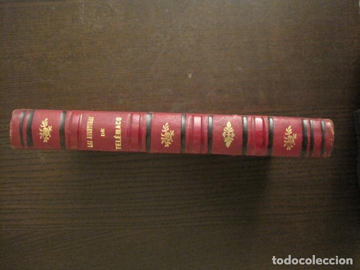 Libros antiguos: LAS AVENTURAS DE TELEMACO-CON GRABADOS-MADRID AÑO 1850-VER FOTOS-(V-19.401) - Foto 4 - 196800742