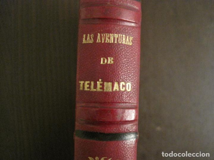 Libros antiguos: LAS AVENTURAS DE TELEMACO-CON GRABADOS-MADRID AÑO 1850-VER FOTOS-(V-19.401) - Foto 5 - 196800742