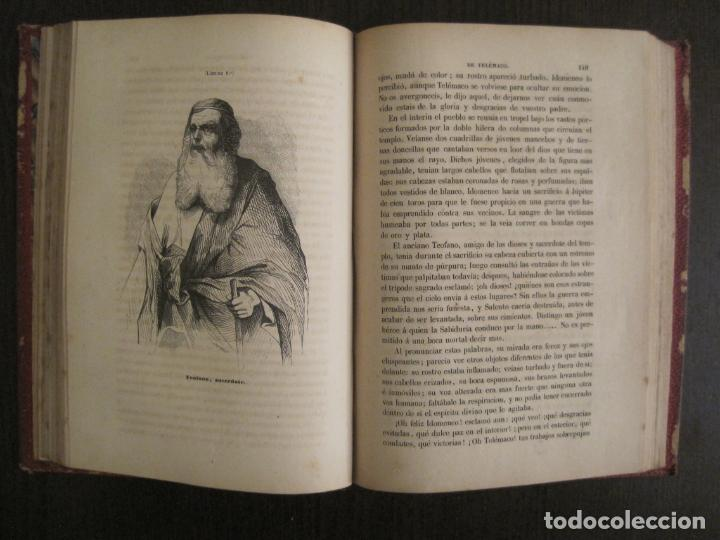 Libros antiguos: LAS AVENTURAS DE TELEMACO-CON GRABADOS-MADRID AÑO 1850-VER FOTOS-(V-19.401) - Foto 14 - 196800742