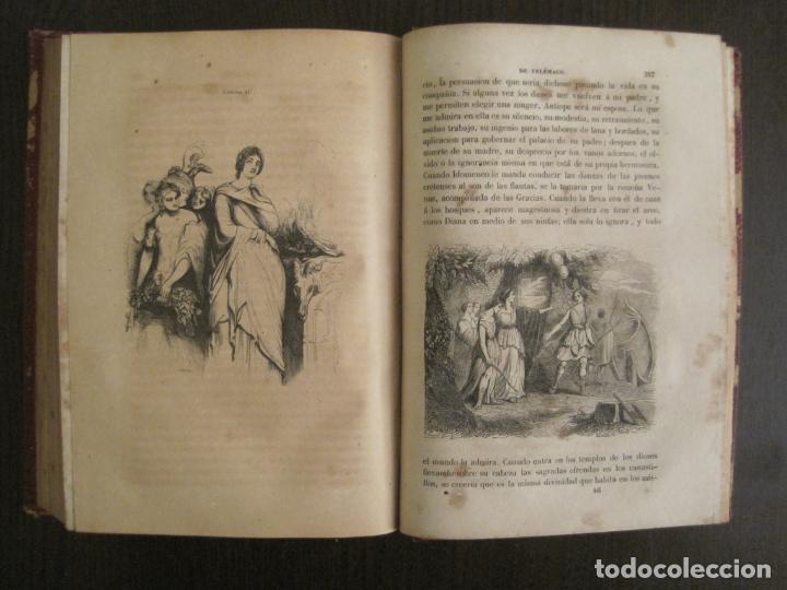 Libros antiguos: LAS AVENTURAS DE TELEMACO-CON GRABADOS-MADRID AÑO 1850-VER FOTOS-(V-19.401) - Foto 19 - 196800742