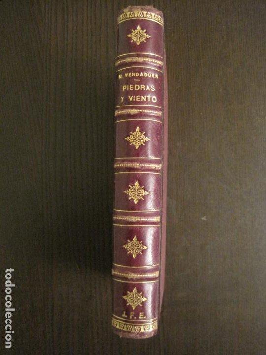 Libros antiguos: PIEDRAS Y VIENTO-MARIO VERDAGUER-MENORCA-VER FOTOS-(V-19.400) - Foto 7 - 196801326