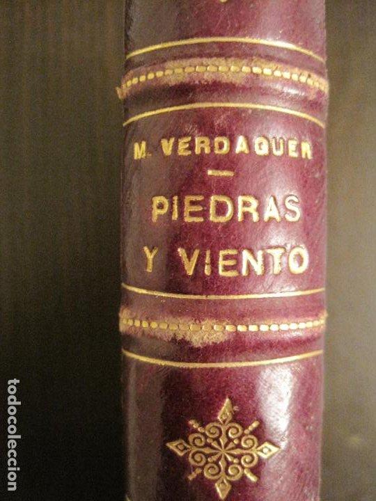 Libros antiguos: PIEDRAS Y VIENTO-MARIO VERDAGUER-MENORCA-VER FOTOS-(V-19.400) - Foto 8 - 196801326