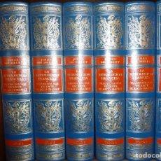 Libros antiguos: LA REVOLUCIÓN FRANCESA - 6 TOMOS - JULES MICHELET - SOLO 1.000 EJEMPLARES. Lote 196818176