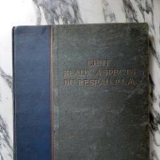 Libros antiguos: CENT BEAUX ASPECTS DU RESEAU P.L.M. - FERROCARRIL - TREN - FRANCIA - PRIMERA MITAD S.XX. Lote 196843428