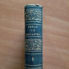 Livros antigos: 1826 OBRAS ESCOGIDAS DE CERVANTES : NOVELAS JOCOSAS - POESÍA TOMO 9. Lote 196885570