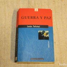 Libros antiguos: GUERRA Y PAZ. LEON TOLSTOY. . Lote 196919013