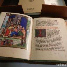 Livros antigos: FACSIMIL LIBRO DE ORACIÓN ALBERTO DE BRANDEBURGO MOLEIRO Y LIBRO ESTUDIOS DIFÍCIL CÓDICE. Lote 196924965