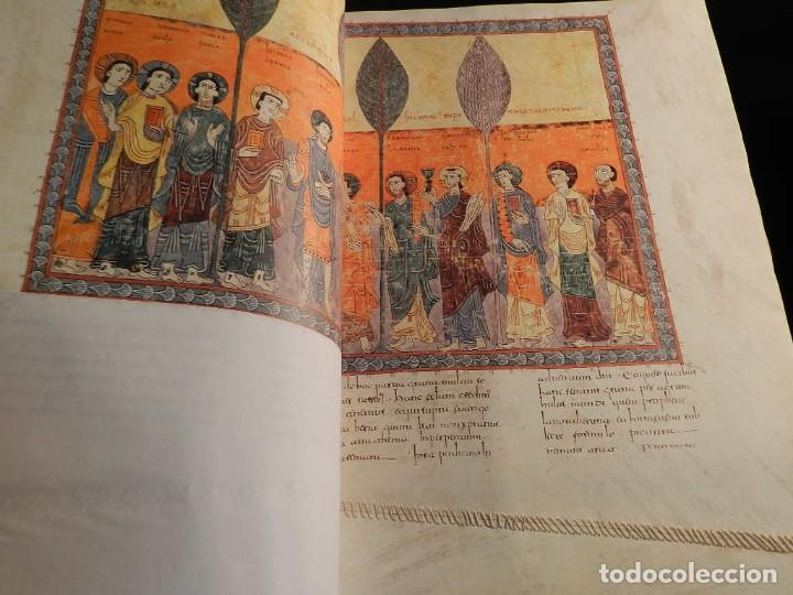 Libros antiguos: BEATO DE LIEBANA FACSÍMIL CODICE DE GIRONA MOLEIRO NUEVO ESTRENAR EN CAJA TRANSPORTE - Foto 7 - 196928737