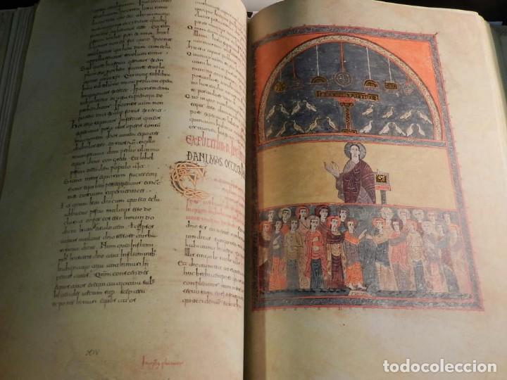 Libros antiguos: BEATO DE LIEBANA FACSÍMIL CODICE DE GIRONA MOLEIRO NUEVO ESTRENAR EN CAJA TRANSPORTE - Foto 8 - 196928737