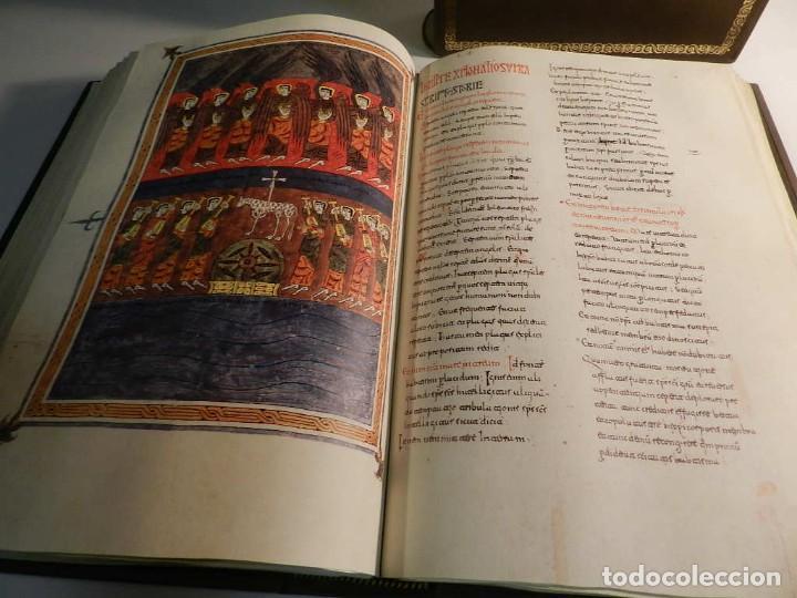 Libros antiguos: BEATO DE LIEBANA FACSÍMIL CODICE DE GIRONA MOLEIRO NUEVO ESTRENAR EN CAJA TRANSPORTE - Foto 10 - 196928737