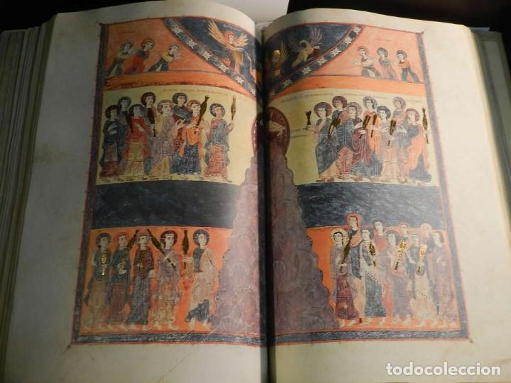 Libros antiguos: BEATO DE LIEBANA FACSÍMIL CODICE DE GIRONA MOLEIRO NUEVO ESTRENAR EN CAJA TRANSPORTE - Foto 14 - 196928737