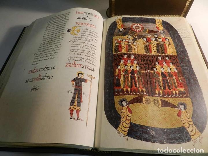 Libros antiguos: BEATO DE LIEBANA FACSÍMIL CODICE DE GIRONA MOLEIRO NUEVO ESTRENAR EN CAJA TRANSPORTE - Foto 12 - 196928737