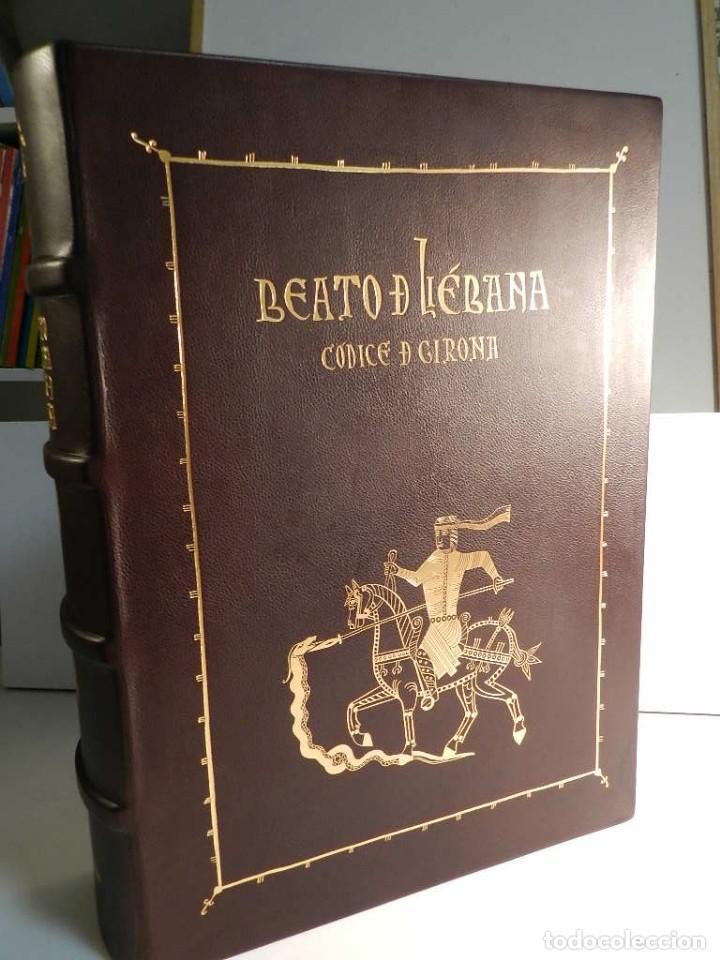 Libros antiguos: BEATO DE LIEBANA FACSÍMIL CODICE DE GIRONA MOLEIRO NUEVO ESTRENAR EN CAJA TRANSPORTE - Foto 2 - 196928737