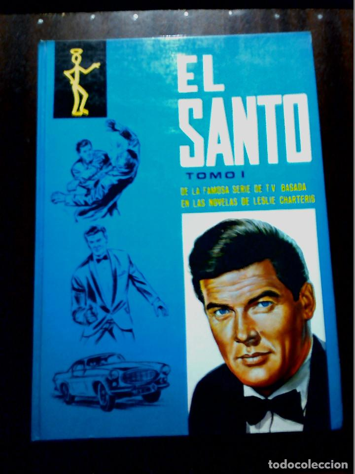 EL SANTO TOMO I (DE LA FAMOSA SERIE TV) AÑOS 70 (Libros Antiguos, Raros y Curiosos - Literatura Infantil y Juvenil - Otros)