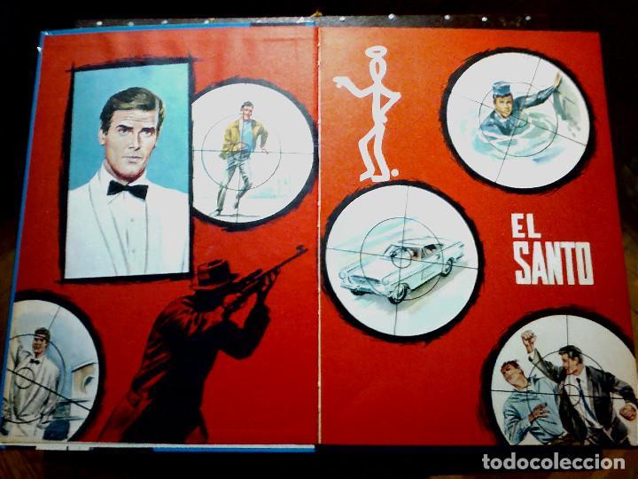 Libros antiguos: EL SANTO TOMO I (DE LA FAMOSA SERIE TV) AÑOS 70 - Foto 4 - 196976470