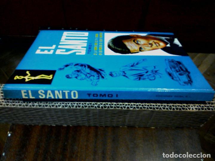 Libros antiguos: EL SANTO TOMO I (DE LA FAMOSA SERIE TV) AÑOS 70 - Foto 6 - 196976470