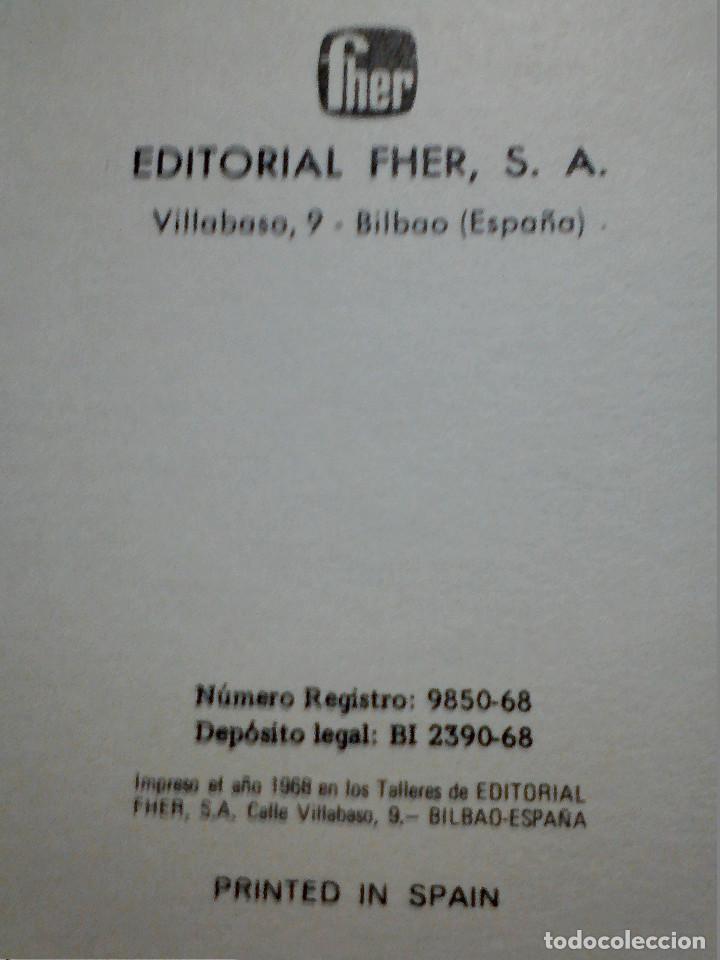 Libros antiguos: EL ÚLTIMO MOHICANO DE F. COOPER EDITORIAL FHER S.A. - Foto 6 - 196976848