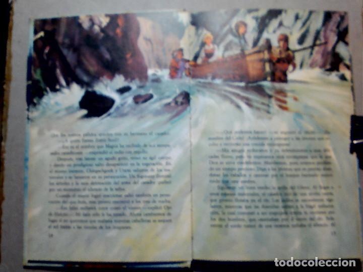 Libros antiguos: EL ÚLTIMO MOHICANO DE F. COOPER EDITORIAL FHER S.A. - Foto 7 - 196976848
