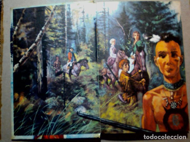 Libros antiguos: EL ÚLTIMO MOHICANO DE F. COOPER EDITORIAL FHER S.A. - Foto 8 - 196976848