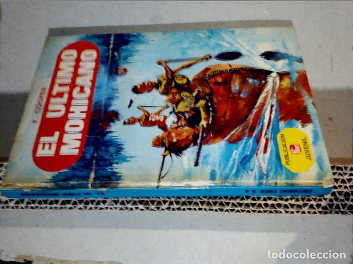 Libros antiguos: EL ÚLTIMO MOHICANO DE F. COOPER EDITORIAL FHER S.A. - Foto 9 - 196976848